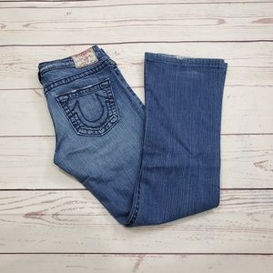 True Religion Tony Big T Bootcut Size 27 Jeans